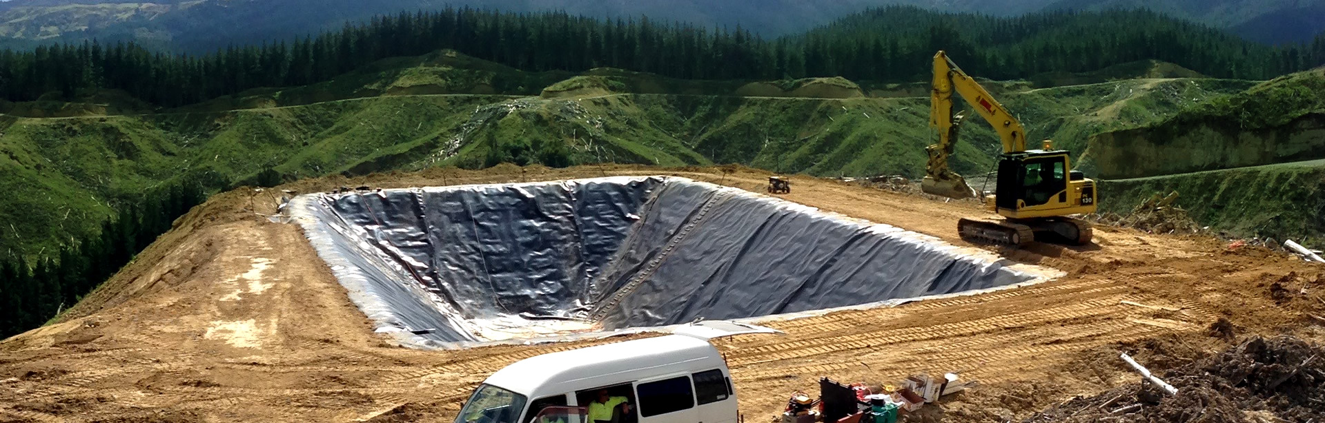 Geomembranes Installation and Supply