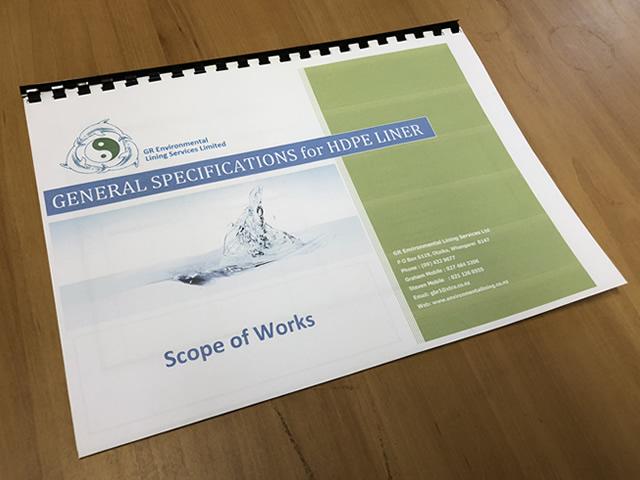 Scope of Works