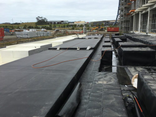 fabricating the HDPE liner-1